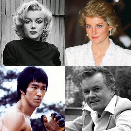 10 مشاهير قُتلوا بطريقة غامضة وحتى الآن لم يُعرف القاتل أو السبب!