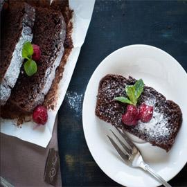 إليكم طريقة تحضير كيك الشوكولاتة الصحي بدقيق اللوز خالي من الجلوتين
