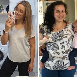 صور مذهلة: سيدة تخسر 40 كغم بوقت قياسي دون جراحة! لن تصدق الفرق..  ..