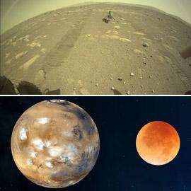 حدث مريخي هام بعد قرن وقصة قطعة قماش على سطح الكوكب الأحمر