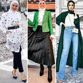بالصور: إليكم إطلالات محتشمة للمحجبات في رمضان 2021