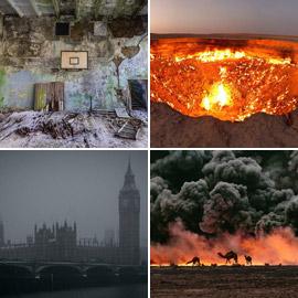 تعرفوا على هذه الكوارث المدمرة التي حصلت جراء خطأ وإهمال البشر!