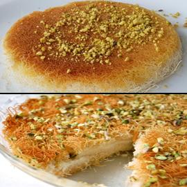 حلويات رمضانية: طريقة عمل الكنافة بالقشطة