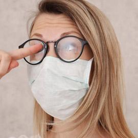 مشكلة يعاني منها أغلبنا.. نصائح لمنع تعفير النظارة بالضباب أثناء  ..