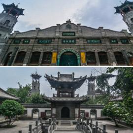 مسجد داتونج فى الصين.. مبنى رائع يدمج الفن المعماري الإسلامي باللمسات  ..