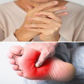 تشعر بالوخز والحرارة بأطرافك؟ إليك الأسباب الصحية لسخونة اليدين  ..