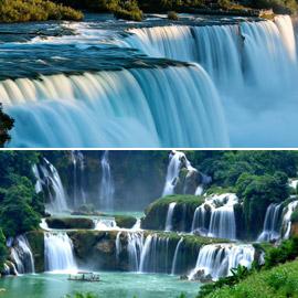 بالصور: تعرفوا إلى أجمل الشلالات في مختلف أنحاء العالم