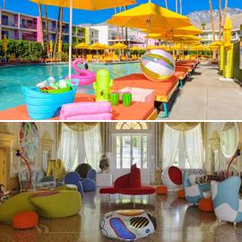 بالصور: تعرفوا إلى 4 فنادق ملونة حول العالم