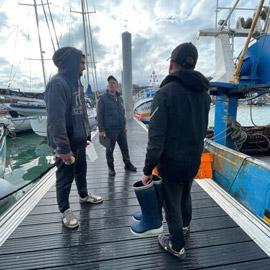 حرب الصيد البحري القديمة الحديثة بين جزر بحر المانش تعود لتتفاعل