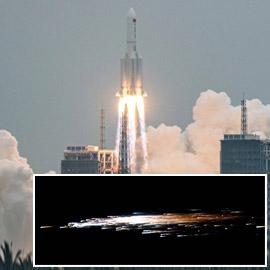 أخيرا سقط الصاروخ.. كيف كسبت الصين الرهان الخطير؟ وماذا حدث؟
