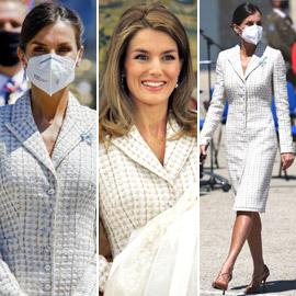 لم تتغير ملكة إسبانيا منذ 15 عاما: أعادت تدوير فستان ارتدته بمعمودية  ..
