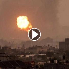 130 غارة إسرائيلية على غزة.. سقوط قتلى وجرحى بينهم أطفال