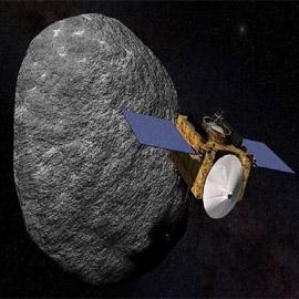 مسبار أمريكي ينقل إلى الأرض 60 غراما من صخور أخطر كويكب