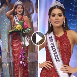 فيديو وصور: مكسيكية تفوز بلقب ملكة جمال الكون 2021
