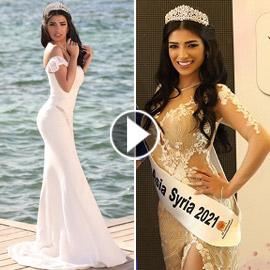 فيديو وصور سنا عطية.. ملكة جمال آسيا سوريا