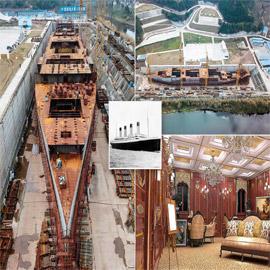نسخة طبق الأصل عن سفينة تيتانيك بالصين.. هل تُبحر مجددا؟
