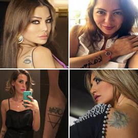 صور نجمات عربيات وعالميات بالوشم (تاتو): موضة أم جرأة أم أناقة؟