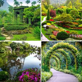 بالصور: تعرفوا إلى أفضل 10 حدائق رائعة حول العالم