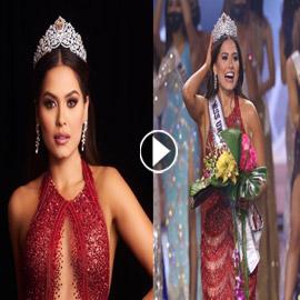 فستان ملكة جمال الكون بحفل فوزها مسروق من مصمم لبناني