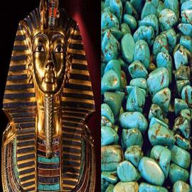 «حجر الفيروز».. وأسرار جوهرة توت عنخ أمون المقدسة