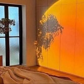 مصابيح منزلية تحاكي غروب الشمس