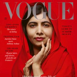 كشف النقاب عن الباكستانية ملالا كأحدث نجمة غلاف لمجلة فوغ البريطانية