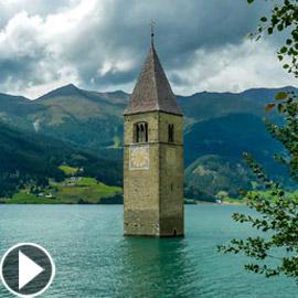 قصة قرية كورون الإيطالية التي ظلت تحت الماء لعقود وسيتم إغراقها مجددا!