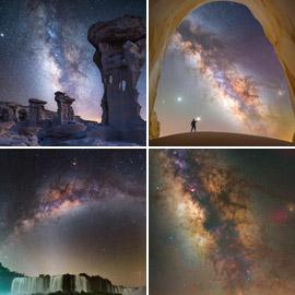 عشاق الليل.. إليكم الفائزون بجائزة مصور مجرة درب التبانة لعام 2021