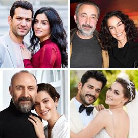 أسرار قصص الحب بين نجوم تركيا: بعضها نجحت رغم فارق السن الكبير