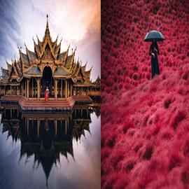 صور ملهمة عن سحر قارة آسيا
