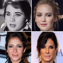 صور نجوم عرب يشبهون نجوم هوليوود! من تشبه كيم كاردشيان؟