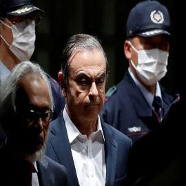 طوكيو تحاكم الذين ساعدوا كارلوس غصن على الهرب إلى لبنان