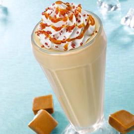 وصفة تحضير قهوة مثلجة بالكراميل المملح