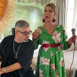 ستينية تتعلم الغناء أثناء الحجر بفرنسا.. وتطلق أول أغنية