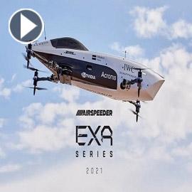 أول سيارة سباق طائرة في العالم تقوم برحلة تاريخية
