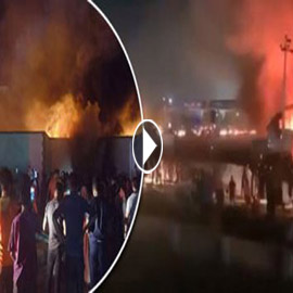حصيلة كارثية.. ارتفاع عدد ضحايا حريق مستشفى كورونا بالعراق