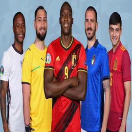 الإعلان عن التشكيلة المثالية لكأس أوروبا