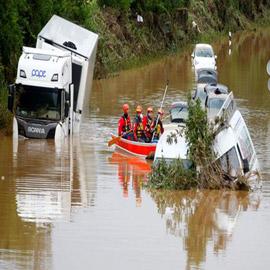 ألمانيا.. حصيلة مأساوية لأسوأ كارثة طبيعية منذ نصف قرن