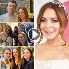 فيديو وصور: ليندسي لوهان تفاجئ الجميع بزيارتها المفاجئة إلى لبنان..  ..