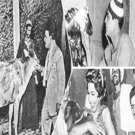 صور وحكايات نجوم الزمن الجميل مع خروف العيد: جلابية شكوكو ووليمة  ..