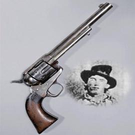 بيع مسدس استخدم في قتل أشهر مجرمي الغرب الأمريكي في مزاد