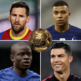 لغة الأرقام تجيب.. من يحقق ويفوز بجائزة الكرة الذهبية في 2021؟