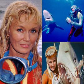 تعرضت للعض 4 مرات! تعرفوا إلى المرأة الشجاعة التي تصورت مع أسماك القرش