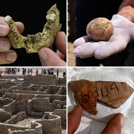 مدينة فرعونية مفقودة وأسلاف البشر.. إليكم أبرز اكتشافات عام 2021