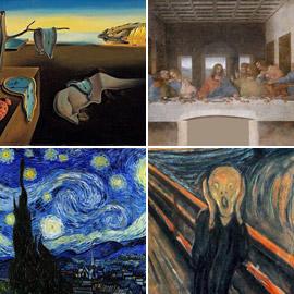 بالصور: تعرفوا إلى أشهر اللوحات العالمية في التاريخ والتي  ..