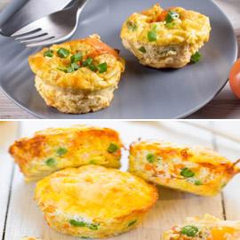 إليكم طريقة تحضير مافن البيض بالخضار الشهي والسهل