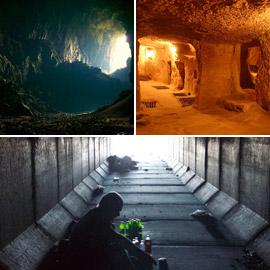 شعوب تحت الأرض.. مجتمعات بشرية ضاقت بها الأرض فعاشت تحتها