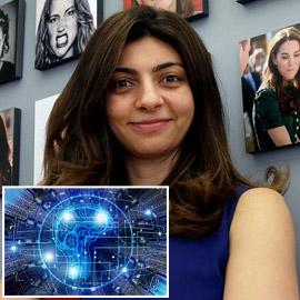 رائدة أعمال مصرية أمريكية تعلّم أجهزة الكمبيوتر كيفية فهم المشاعر  ..