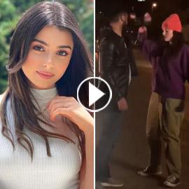 فيديو.. ماريتا الحلاني تدافع عن نفسها بعد تعرضها للتحرش في الشارع!