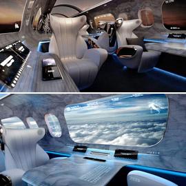 تصميم طائرة بلا نوافذ.. كيف سيغيّر من مستقبل السفر الجوي؟ صور